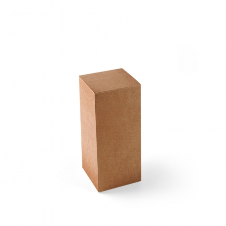 Elongated box for perfumes