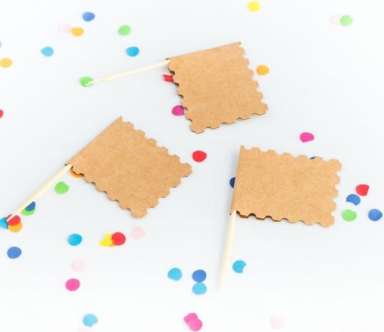 Banderitas para fiestas