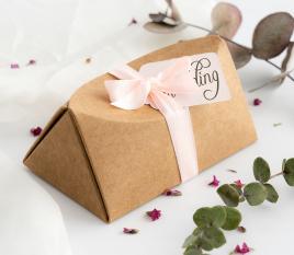 Caja regalo invitación eventos