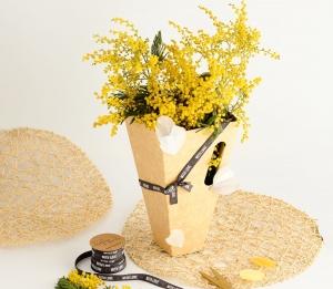 Scatola romantica per fiori