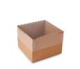 Caja pasteles y tartas con tapa