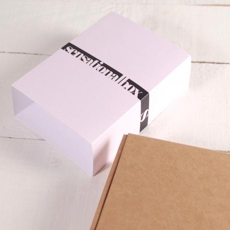 Schachtel mit minimaler Ummantelung