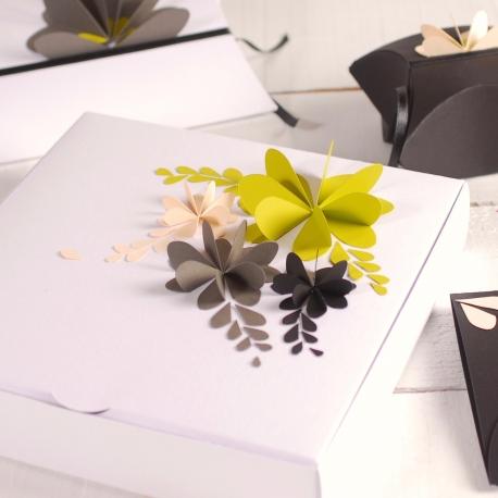 Caja decorada 3D