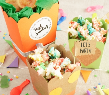 Box for popcorn