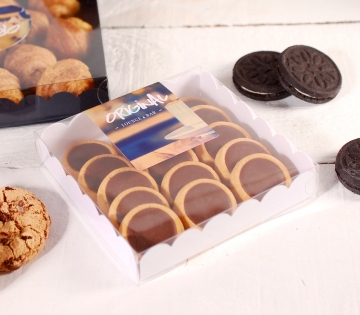 Modern display box for sweets
