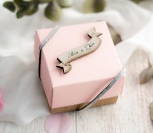 Kleine Geschenkbox für Hochzeiten