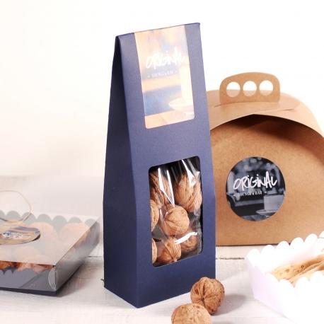 Schachtel mit Fenster für Trockenfrüchte