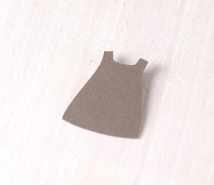 Vestidito Niña Cartón 10 ud.
