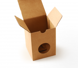 Schachtel für Tassen ohne Henkel