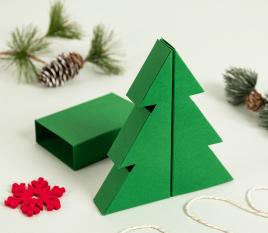 Scatola albero di Natale