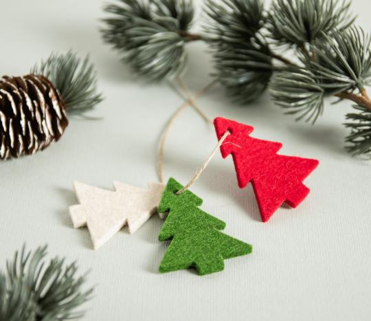 Filz – Weihnachtsbaum