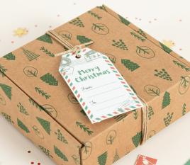 Kit etiquetas navideñas