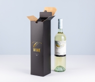 Basic single wine bottle box.