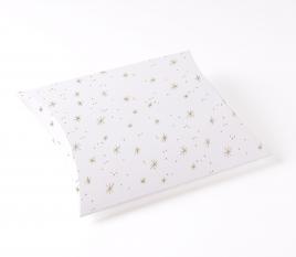 Caja con textura de estrellas