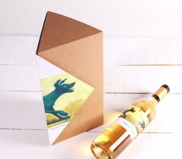 Decoración caja triangular