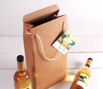 Geschenkkarton für eine Flasche