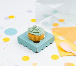 Scatola per una cupcake