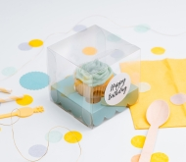 Caja cupcake individual