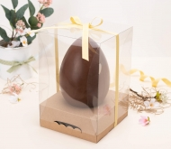 Box with ribbon for Easter eggs