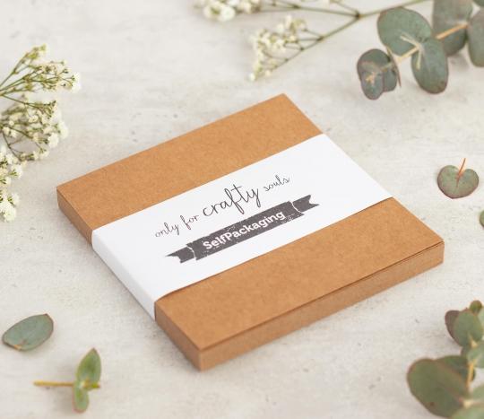 Kraftpapier-Karten