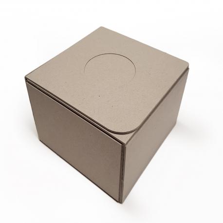 Scatola automontante in cartone riciclato al 100%