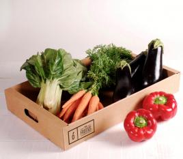Vaschetta di cartone per frutta e verdura