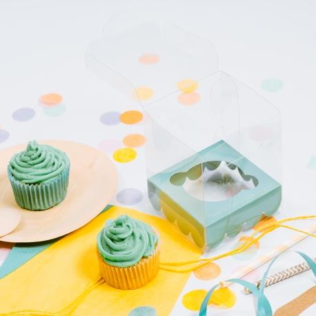 Caja cupcake para fiestas