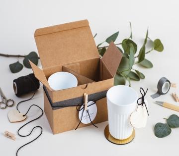 Scatola per tazze minimal