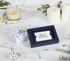 Caja para tarjetas de navidad