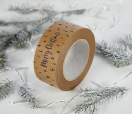 Christmas sticky tape