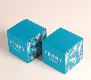Colourful jewellery box