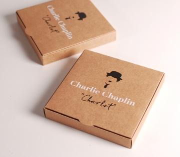 Caja de invitación con aires vintage