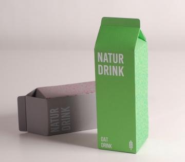 Schachtel für hausgemachte Getränke