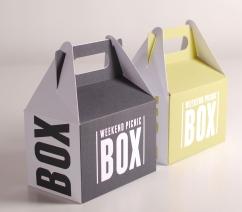 Wochenend-Picknick-Schachtel