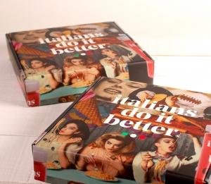 Premium box with Italian design