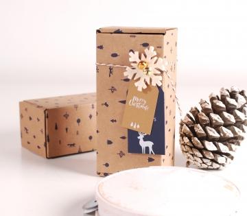 Caja navideña perfume