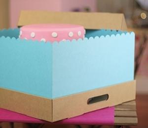 Cajas bonitas para pasteles