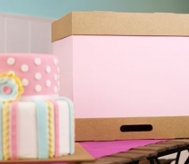 Caja para tartas grandes y pasteles