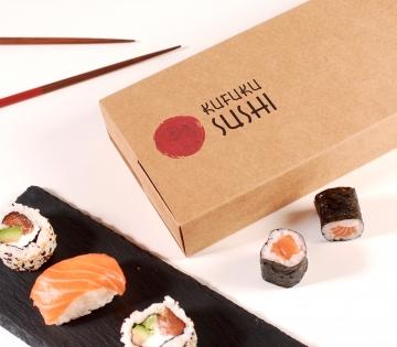 Scatola sushi scomparti
