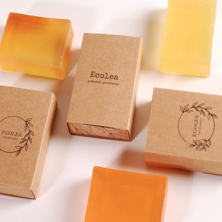 Box for solid soap