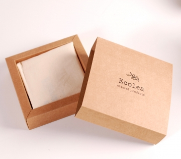 Caja para bolsas y servilletas de tela eco