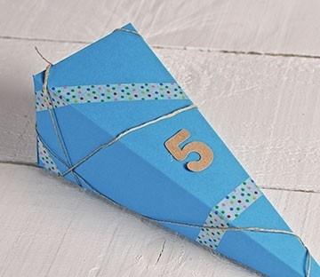 Cajas triangulares para caramelos