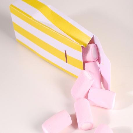 Caja de cartón en forma de bolsita
