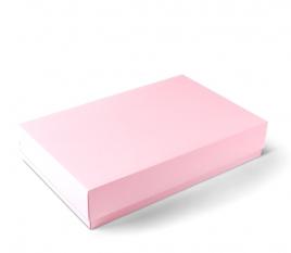 Caja rectangular de tapa y base