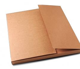 Large cardboard shipping folder