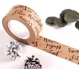 Nastro adesivo in stile natalizio