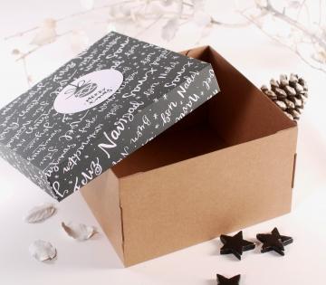 Box with Christmas lid