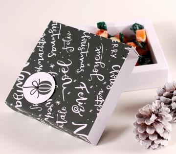 Caja para bombones de navidad