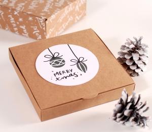 Caja para invitaciones de navidad