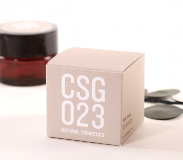 Square gift box for cosmetics